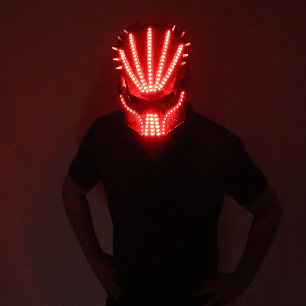 Flashing El Wire Mask Led Glowing Beauty Christmas Party Mask Festival Event Haloween Mask