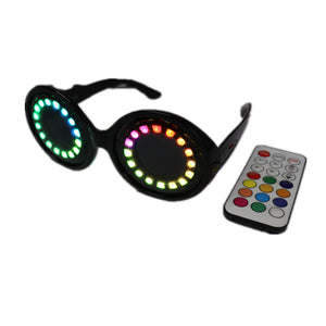 Pixel Pro LED Goggles Kaleidoscope Lenses Over 350 Modes Intense Lights  LED Glasses