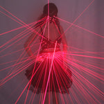Load image into Gallery viewer, Lady Clothing Laser Bra and Girdle Laser Red Laser for Night Club Led Luminous Women Suit Laser Show