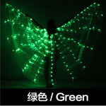Load image into Gallery viewer, Belly Dance LED Isis Wings Colorful Belly Dancing Accessory Popular Stage Performance Props Wings Props With Stick