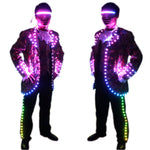 Laden Sie das Bild in den Galerie-Viewer.LED Court Suits Symphony of Light-emitting Tuxedo Full-color Digital Pixel LED Running Horse 350 Art of Effects