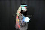 Load image into Gallery viewer, Colour LED Glowing Wreaths Veil Music Festival Party Veil Princess Hair Ornaments