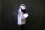 Cargar imagen en el visor de la galería, LED Glowing Wreaths Veil Music Festival Party Veil Princess Hair Ornaments