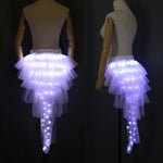 Load image into Gallery viewer, Fashion Dance LED Tutu Skirt Up Neon Fancy Rainbow Mini Tutu Fancy Costume Adult light Skirt TFS Corset Tutu Skirtr