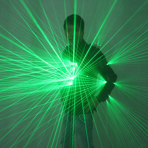 Green Laser Waistcoat LED Clothes Laser Suits Laser Man Costumes For Nightclub Performers