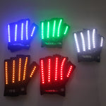 Charger l'image dans la galerie, Gants LED Laser Show Garment Stage Props Nightclub Singer Dancer Bright LED Light Gants