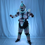 Load image into Gallery viewer, Full Color LED Robot Suit Stage Dance Costume Tron RGB Lighted Luminous Outfit Team Wears Cosplay Dress Vest Disco