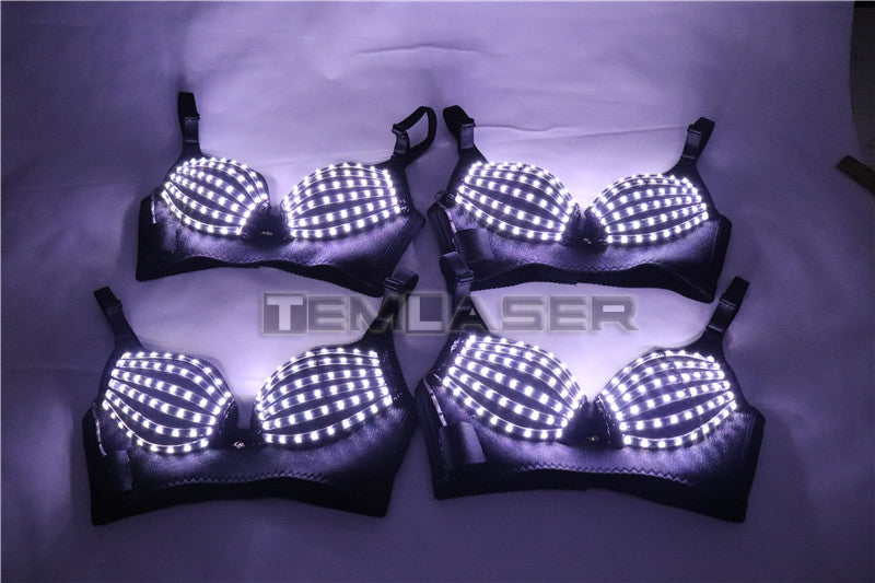 Nightclub Clubwea Ds Costumes Nightclub Bar Clubwear Led Bra Led Costume Light-up Bra