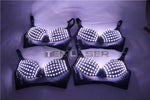 Laden Sie das Bild in den Galerie-Viewer.Nachtclub Clubwea D Kostüme Nachtclub Bar Clubwear Led Bra Led Kostüm Light-up Bra