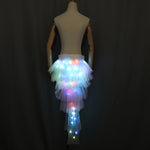 Cargar imagen en el visor de la galería, Fashion Dance LED Tutu Skirt Up Neon Fancy Rainbow Mini Tutu Fancy Costume Adult light Skirt TFS Corset Tutu Skirtr