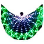 Cargar imagen en el visor de la galería, Wings Isis Sticks Adult Led Multicolor Accessories Lamp Props 360 grados Angle LED Wing Butterfly Christmas Performance