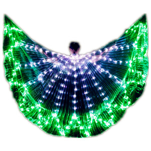 Wings Isis Sticks Adult Led Multicolor Accessories Lamp Props 360 grados Angle LED Wing Butterfly Christmas Performance