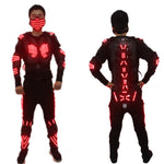 Cargar imagen en el visor de la galería, Color Led Light Up Robot Suit With Led Armor Luminous Dancing Stage Dance Wear