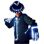 Load image into Gallery viewer, LED Costume Clothes Festive Party Supplies LED Stage Wear LED Suit  for Michael Jackson  Jacket Cosplay Costume