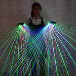 Load image into Gallery viewer, 2 In 1 Colorful RGB Laser Gloves with 4 Pcs Laser for Stage Laserman DJ Show Performance Event  Party Supplies