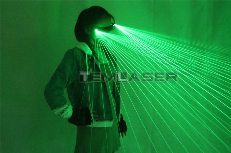 Red Green Bule RGB Multi Beams Stage Laser Glasses Grand Event Decorations LED Red Light Dancing Stage Show DJ Club Party