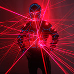 Load image into Gallery viewer, Laser Robot Suits Red Laser Waistcoat LED Clothes 650nm Laser Man Stage Costumes For Nightclub Performers