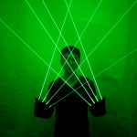 Cargar imagen en el visor de la galería, High Quality Green Laser Gloves Nightclub Bar Party Dance Singer Dance Props DJ Mechanical Gloves