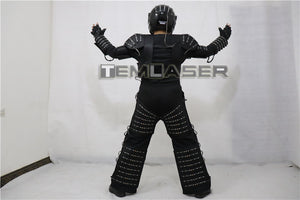 LED Robot Costume Robots Vêtements DJ Traje Party Show Glow Costumes pour Dancer Party Performance Electronic Music Festival DJ Show