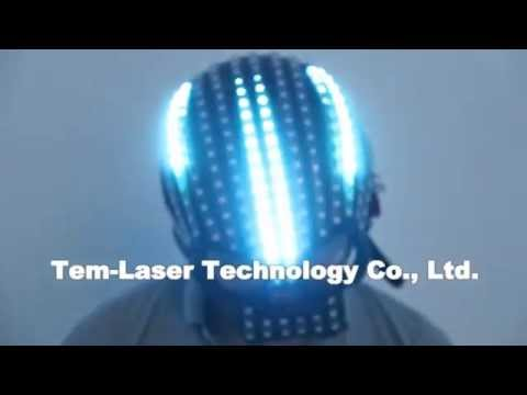 LED Helmet Unicorn Helmet Monochrome Full Color Luminous Racing Helmets Waterfall Effect Glowing Party DJ Robot