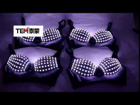 Nachtclub Clubwea D Kostüme Nachtclub Bar Clubwear Led Bra Led Kostüm Light-up Bra