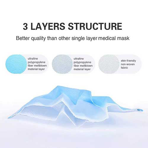 3 layers of protection face mask