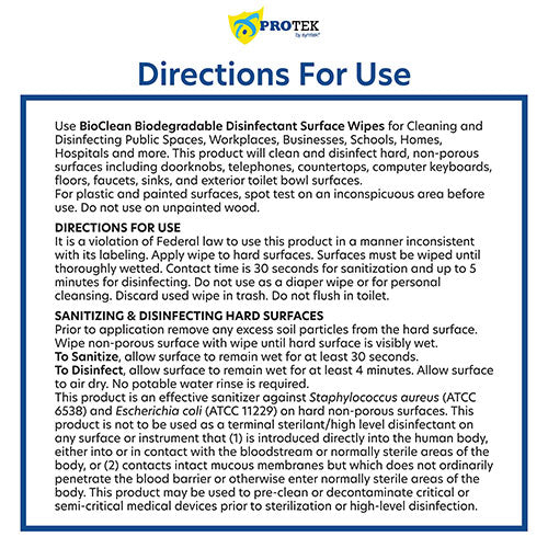 BioClean Wipes How to Use