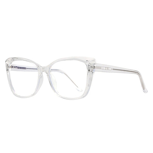 Madison Cat Eye Blue light Glasses in Clear
