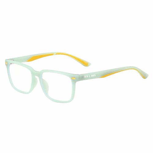 Green and yellow Blue Light Glasses for kids