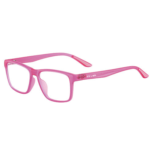 Berry pink Blue Light Glasses for kids