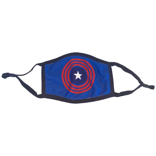 blue star cooling face mask