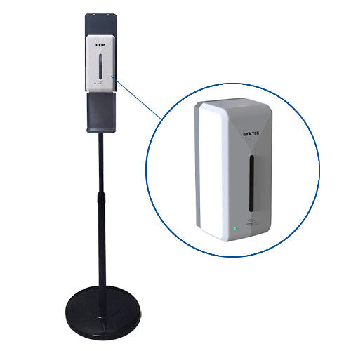 Touchless Hand Sanitizer Dispenser & Stand