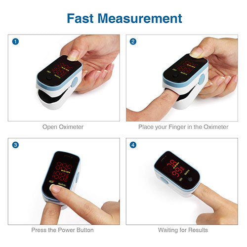 how to use a pulse oximeter for fast measurement