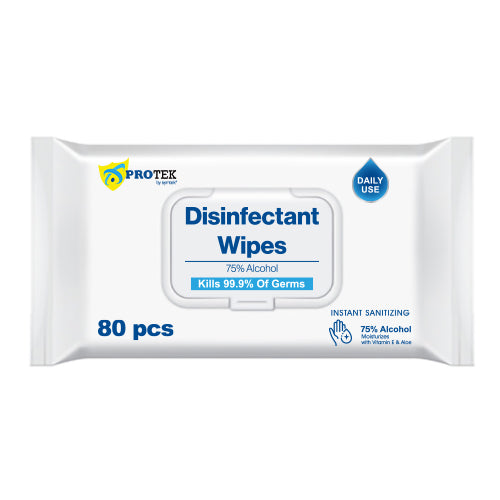 Disinfectant Wipes – 80pcs