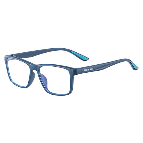 Teal Blue Light Glasses for kids
