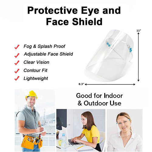 Protective Eye and Face Shield