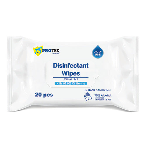 Disinfectant Wipes Travel Size – 20pcs