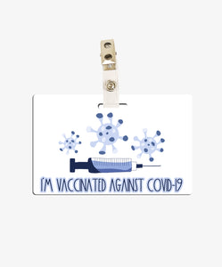 COVID Vaccination Badge - BadgeSmith