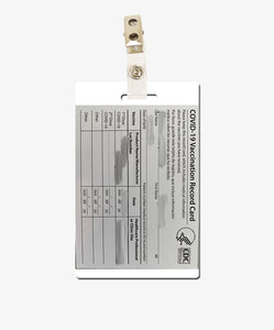 Upload Your Own Vaccination Card - BadgeSmith