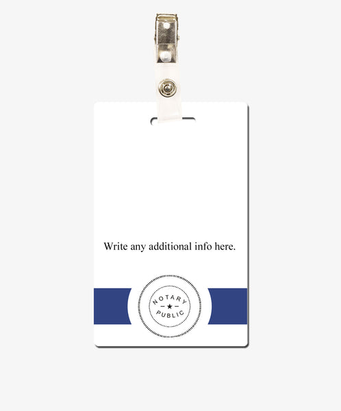 Notary ID Card - BadgeSmith