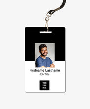 Load image into Gallery viewer, Color Block ID Card - BadgeSmith