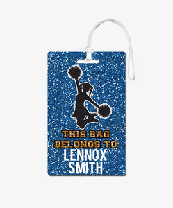 Cheerleading Bag Tag - BadgeSmith