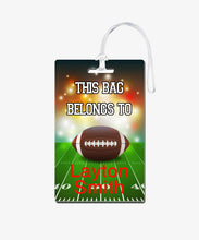 Load image into Gallery viewer, Football Bag Tag - BadgeSmith
