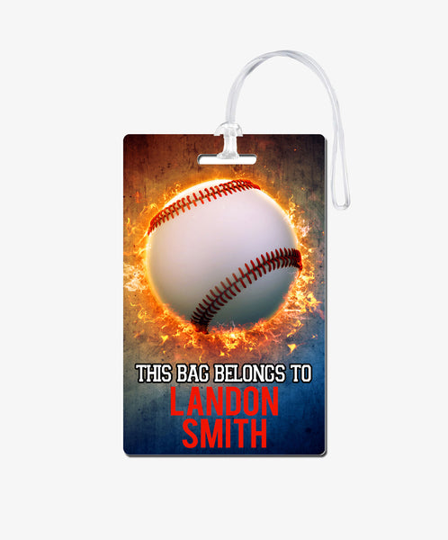 Baseball Bag Tag - BadgeSmith