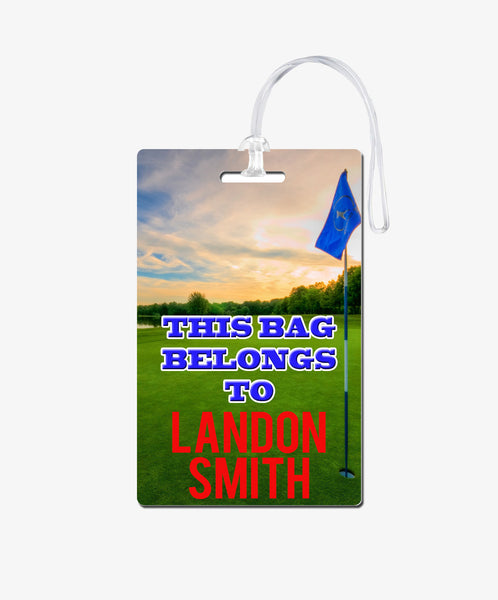 Golf Bag Tag - BadgeSmith