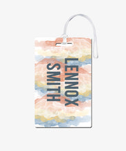 Load image into Gallery viewer, Boho Watercolor Luggage Tag - BadgeSmith