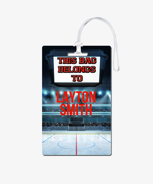 Hockey Bag Tag - BadgeSmith