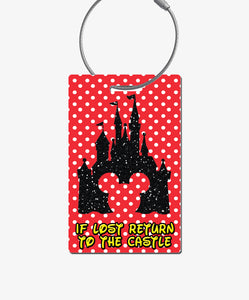 Castle Luggage Tag - BadgeSmith