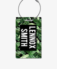Load image into Gallery viewer, Tropical Palm Luggage Tag - BadgeSmith
