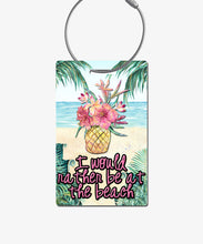 Load image into Gallery viewer, Tropical Luggage Tag - BadgeSmith